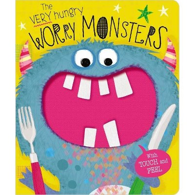 Very Hungry Worry Monsters - by Lara Ede (Board Book)