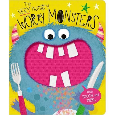 Very Hungry Worry Monsters - by Lara Ede (Board Book) - image 1 of 1