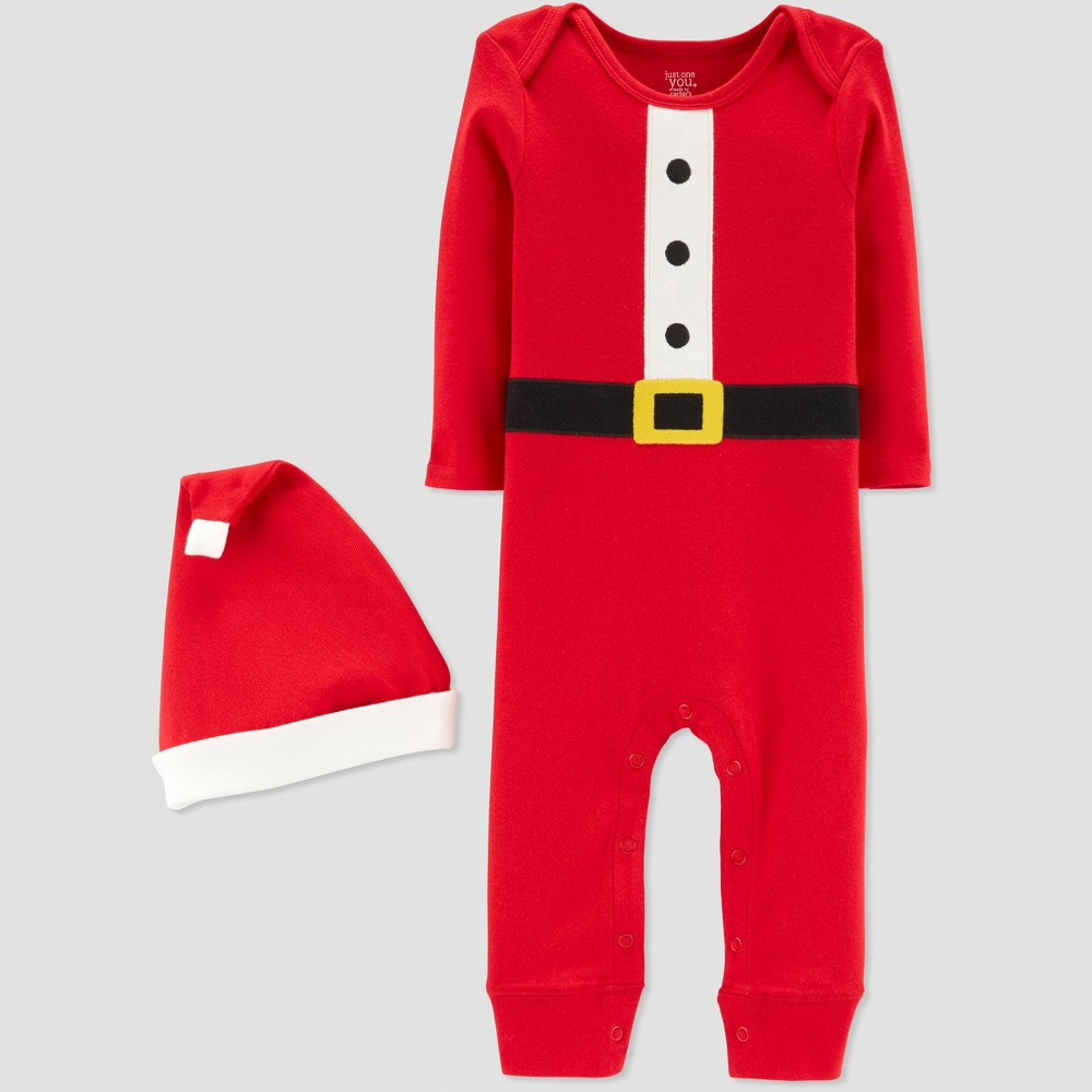 Baby Boys' Santa Suit - Just One You made by carter's Red 3M