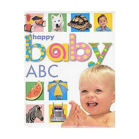 Happy Baby: ABC - by  Roger Priddy (Board_book) - image 1 of 1