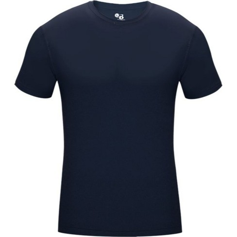 Badger  Pro Compression S/S Crew Navy Small - image 1 of 1