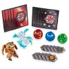Bakugan Battle Pack 5-Pack Aurelus Lupitheon and Haos Vicerox Collectible Cards and Figures - image 2 of 4