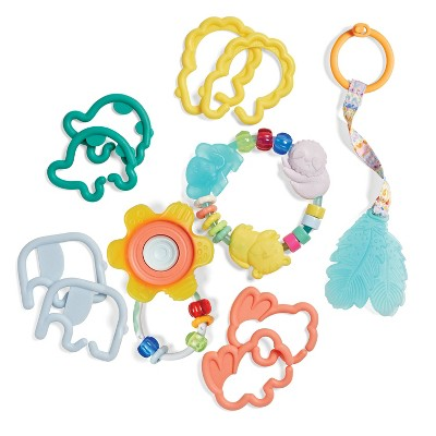Infantino Go gaga! Teethers & Rattle Baby Gift Set