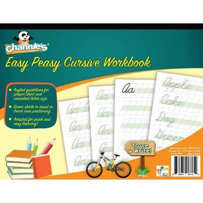 Channie's Easy Peasy Cursive Workbook