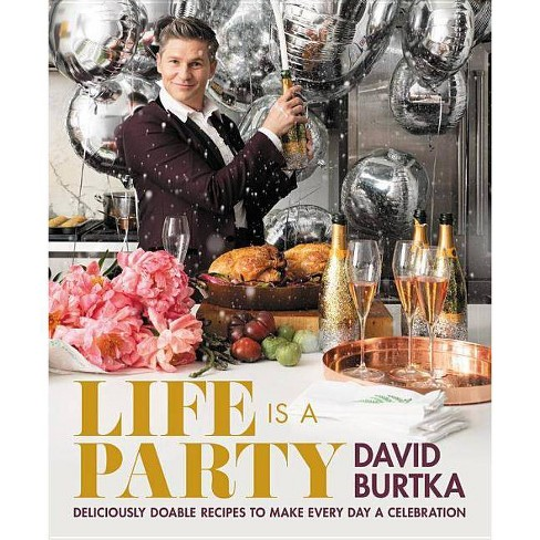 Life Is a Party - by  David Burtka (Hardcover) - image 1 of 1