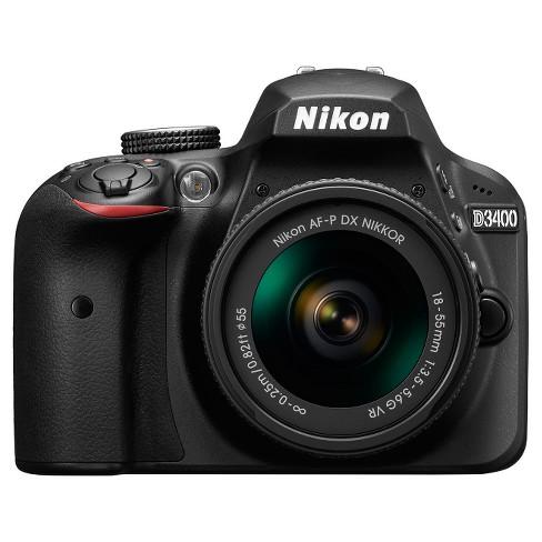 Nikon D3400 18-55mm Kit - Black (1571) - image 1 of 4