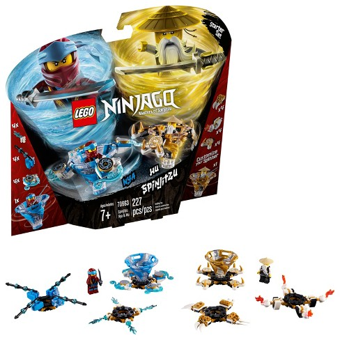 LEGO Ninjago: Masters of Spinjitzu Spinjitzu Nya & Wu 70663 - image 1 of 2