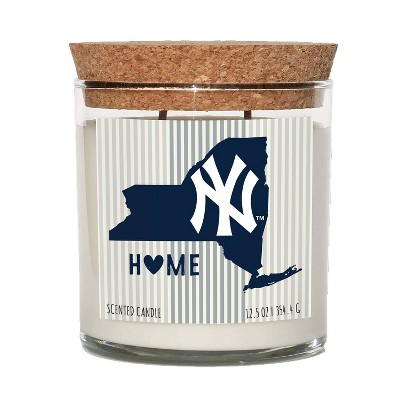 MLB New York Yankees Home State Candle