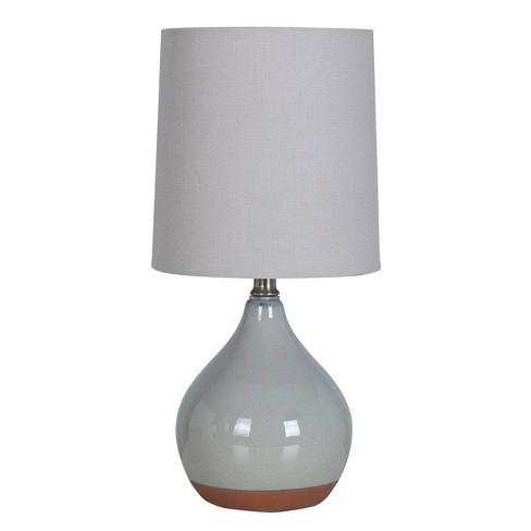 Ceramic Reactive Accent Lamp Gray  - Threshold™ - image 1 of 1