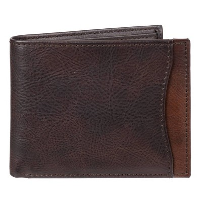 Men's Two-Tone Bifold Wallet - Goodfellow & Co™ Brown