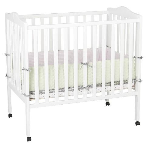 Delta Children® Portable Mini Crib - White : Target