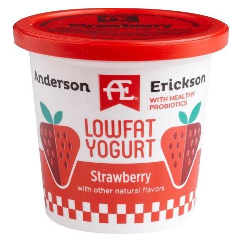 Anderson Erickson Low Fat Strawberry Yogurt - 6oz - image 1 of 1