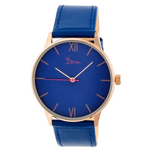 Women's Boum Dimanche Leather-Band Watch - image 1 of 3
