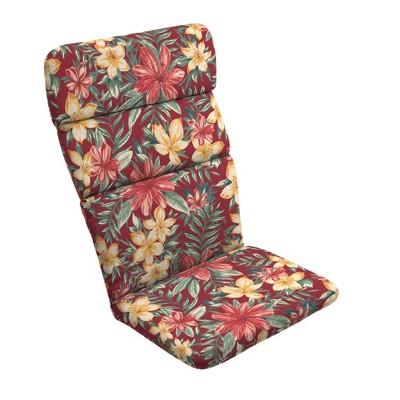 Clarissa Tropical Adirondack Chair Cushion Ruby - Arden Selections