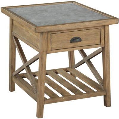 Hekman 27871 Rect End Table W\drawer Special Reserve.
