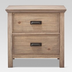 Gilford 2 Drawer Nightstand - Threshold™