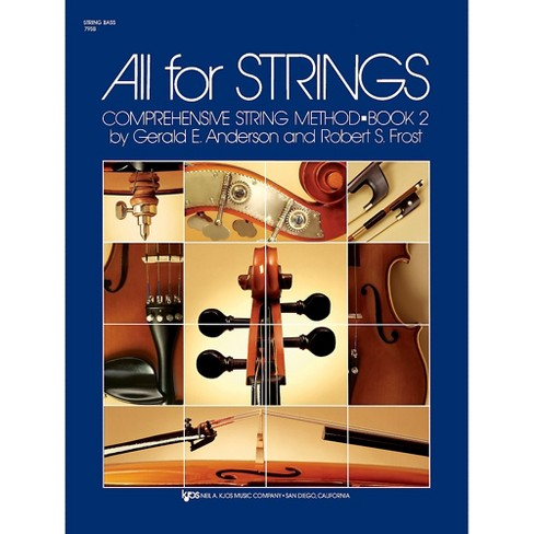 KJOS All for Strings String Bass Book 2 - image 1 of 1