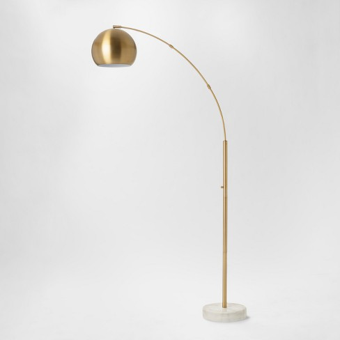 Span Single Head Metal Globe Floor Lamp - Project 62™ - image 1 of 2