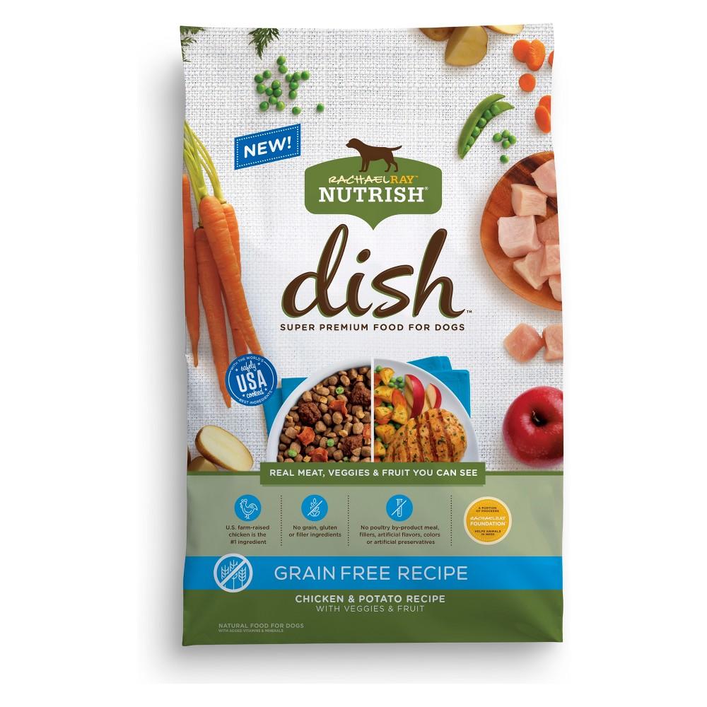 Rachael Ray Nutrish Dish Grain Free Natural Dry Dog Food, Chicken & Potato Recipe - 11lb
