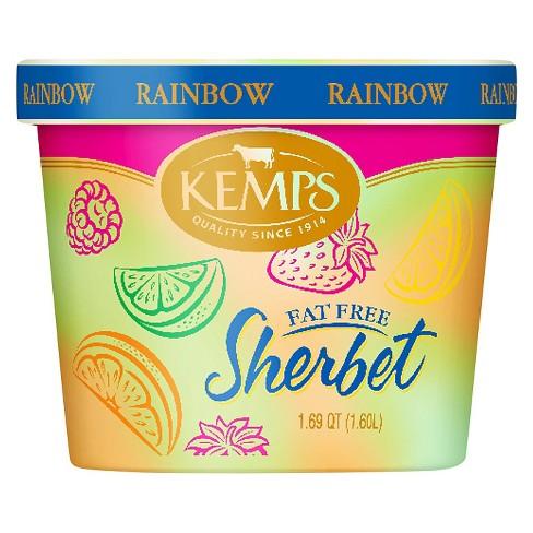 Kemps Rainbow Frozen Sherbet - 54oz - image 1 of 1