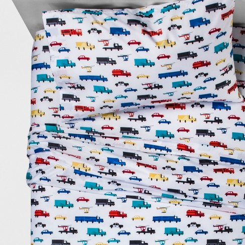 Transport Terrific Sheet Set - Pillowfort™ - image 1 of 1