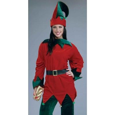 Santa's Helper Christmas Elf Costume Adult