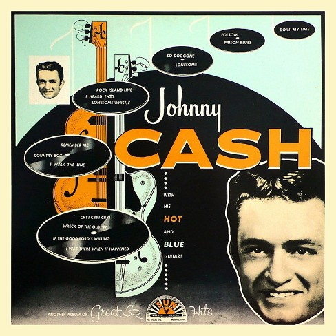 Johnny cash - With his hot and blue guitar (CD) - image 1 of 1