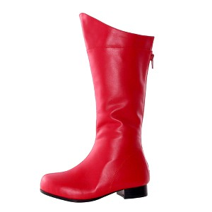 Halloween Adult Shazam Boots Red Small Costume, Men