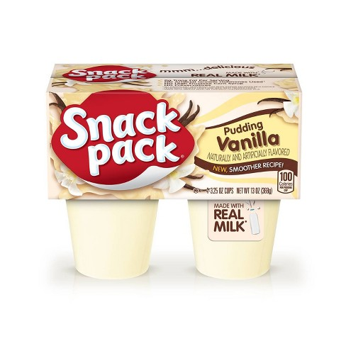 Hunt's Snack Pack Vanilla Pudding - 4pk - image 1 of 2