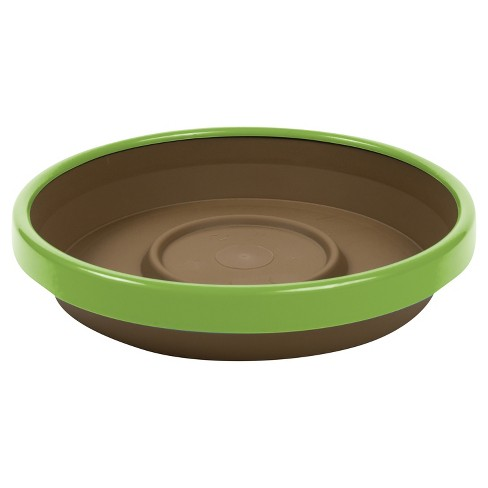 Terra Two Tone Planter Saucer - Bloem - image 1 of 3