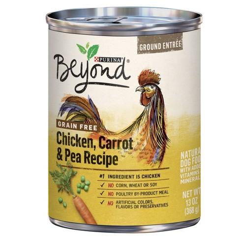 Purina Beyond Cat Food >> Purina Beyond Grain Free Natural Pate Wet Dog Food Grain Free Chicken Carrot Pea Recipe 13oz