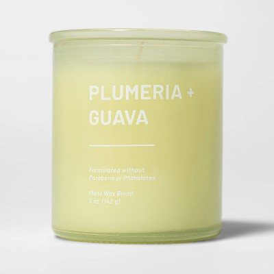 Glass Jar Plumeria and Guava Candle - Project 62™