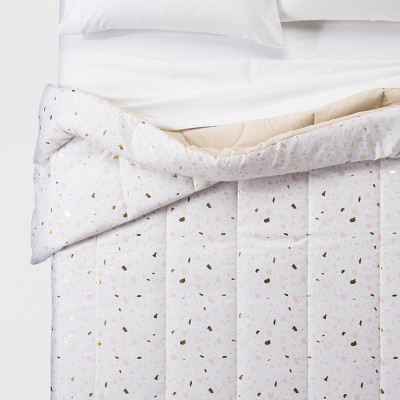 Composite Foil Printed Microfiber Comforter (Full/Queen)- Room Essentials™