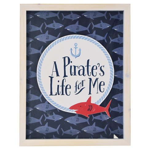 A Pirate's Life for Me Framed Art - Pillowfort™ - image 1 of 1