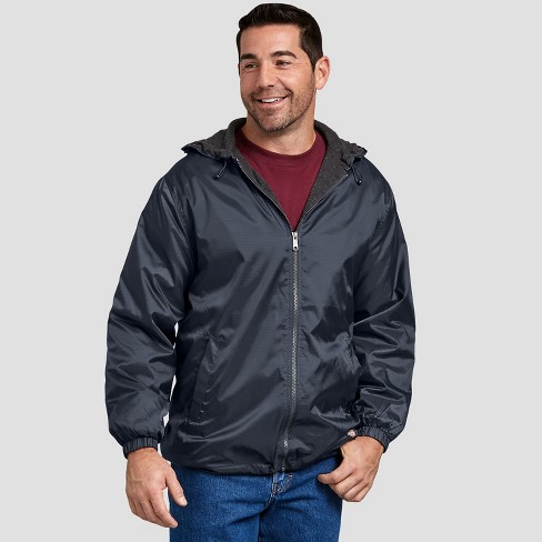 Dickies Mens Fleece-Lined Hooded Jacket