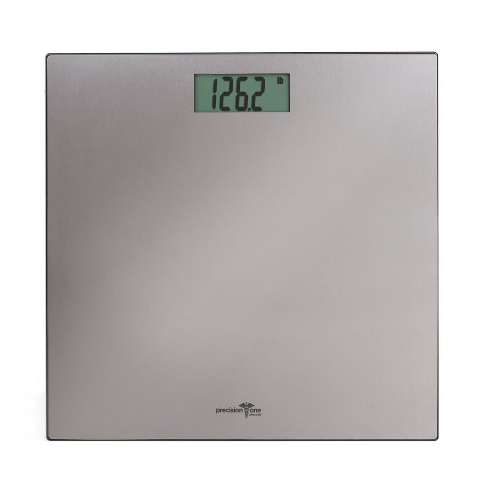 Image of Precision One Stainless Steel Digital Personal Scale Silver - Detecto