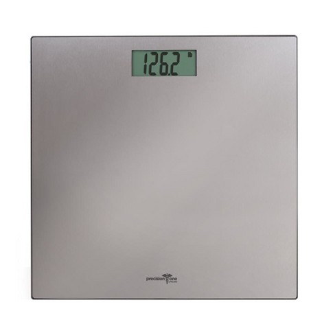 Precision One Stainless Steel Digital Personal Scale Silver - Detecto - image 1 of 1