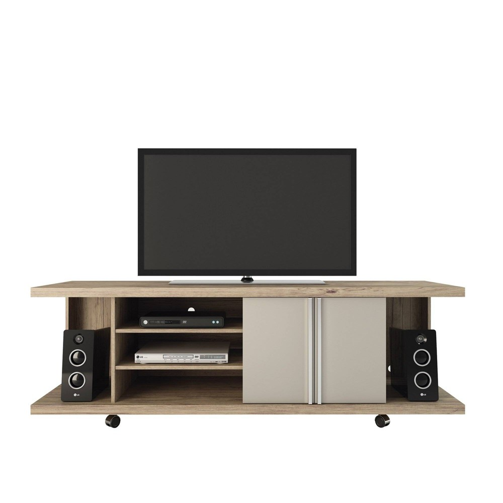 Carnegie TV Stand Manhattan Comfort