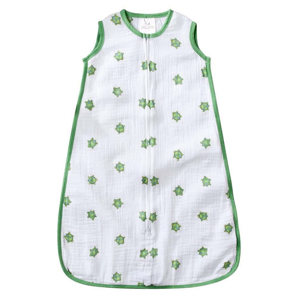 Aden by Aden + Anais Sleeping Bag - Life's a Hoot - Turtle - M, Infant Girl's, Green