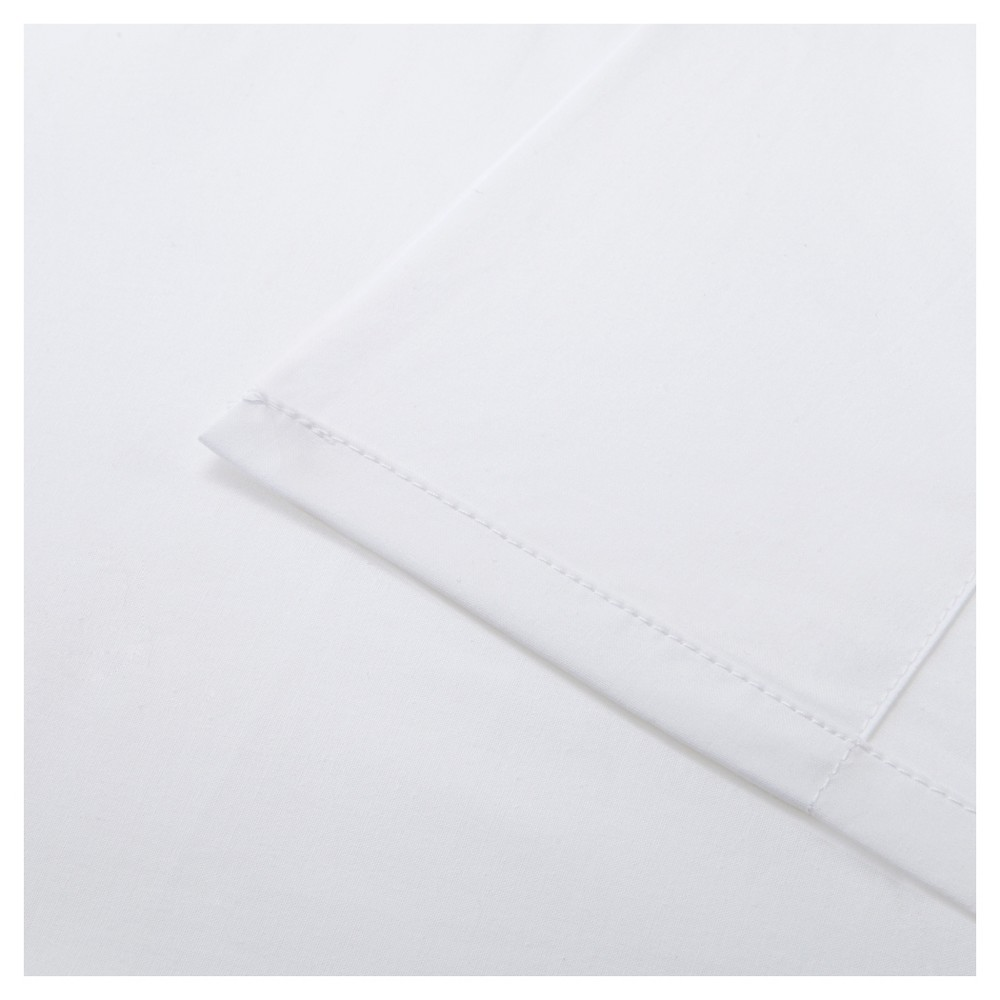 Forever Percale Sheet Set (Queen) White