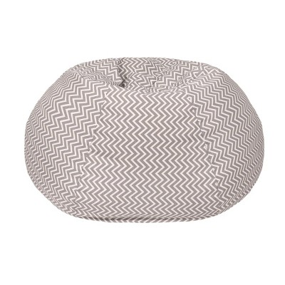 Kids Cosmo ZigZag Bean Bag Gray - Gold Medal