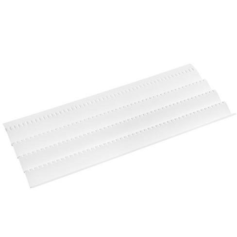 Rev A Shelf Cut to Size Universal Spice Drawer Organizer Insert Tray, White - image 1 of 3