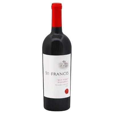 St. Francis Old Vines Zinfandel Wine - 750ml Bottle