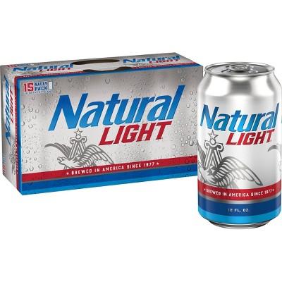 Natural Light Beer - 12pk/12 fl oz Cans