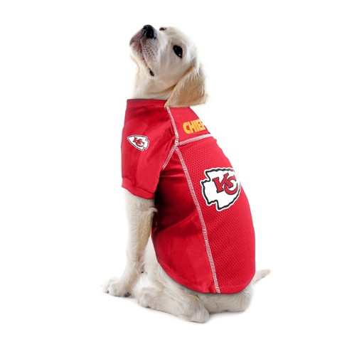 Kansas City Chiefs Little Earth Pet Football Jersey - Red XS   Target f817282c9