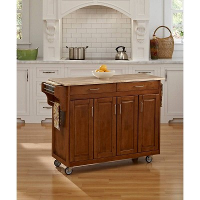 Kitchen Carts And Islands Oak Brown - Home Styles