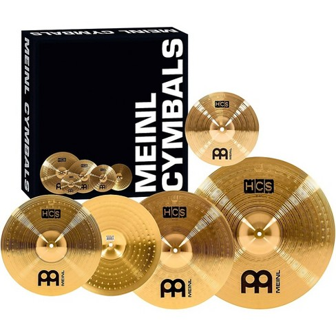 """Meinl HCS Complete Cymbal Set with Free 10"""" Splash - image 1 of 3"""