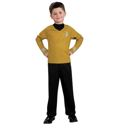 Rubies Star Trek Boys Captain Kirk Costume