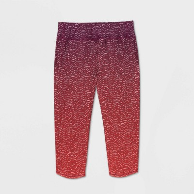Girls' Ombre Printed Capri Leggings - All in Motion™