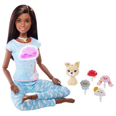 Barbie Breathe With Me Meditation Brunette Doll